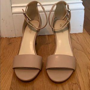 Nine West strap sandal heels. PRICE FIRM!